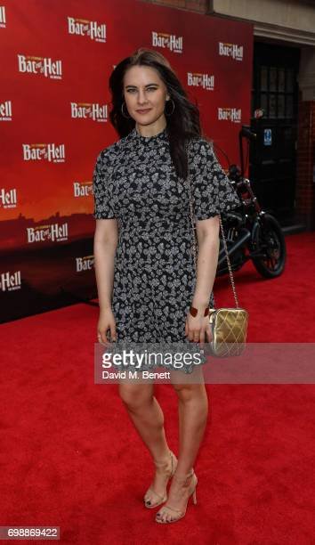 Kat Shoob attends the press night performance of 'Bat Out Of Hell The Musical' at The London Coliseum on June 20 2017 in London England