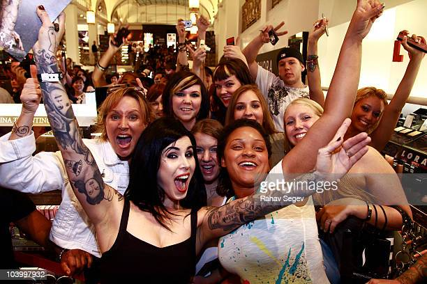 Kat Von D of High Voltage Tattoo attends the Sephora celebration of Fashion's Night Out at Sephora Fifth Avenue on September 10 2010 in New York City