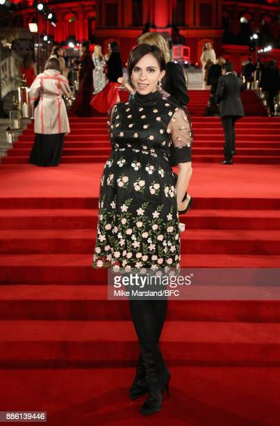 Kata Hicks attends The Fashion Awards 2017 in partnership with Swarovski at Royal Albert Hall on December 4 2017 in London England
