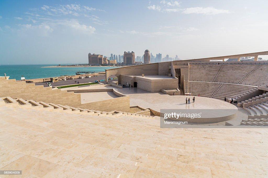 Katara Cultural Village, view of the Amphitheater