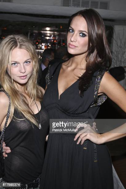 Katarina Damm and Jane Foret attend ONE MANAGEMENT COMPANY Holiday Party at La Esquina on December 15 2010 in New York City