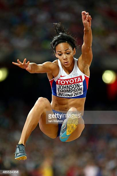 Katarina JohnsonThompson of Great Britain competes in the Women's Long Jump final during day seven of the 15th IAAF World Athletics Championships...