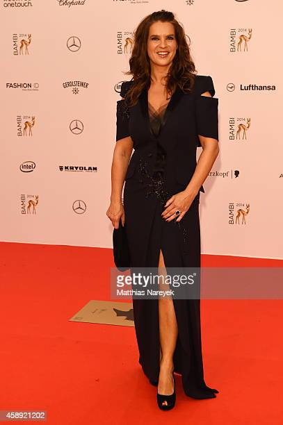 Katarina Witt arrives at the Bambi Awards 2014 on November 13 2014 in Berlin Germany