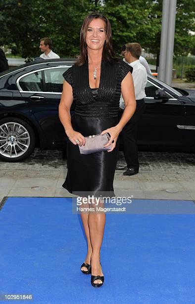 Katarina Witt attend the Bavarian Sport Award 2010 at the International Congress Center Munich on July 17 2010 in Munich Germany