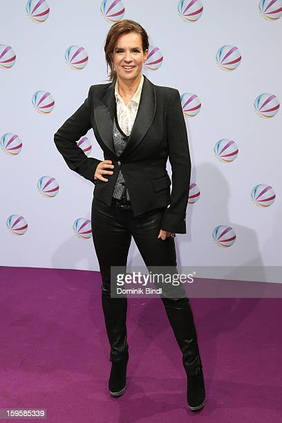 Katarina Witt attends 'Der Feind In Meinem Leben' Berlin Photocall at Astor Lounge on January 16 2013 in Berlin Germany