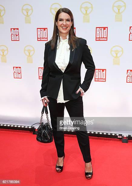 Katarina Witt attends the 'Goldenes Lenkrad' Award at Axel Springer Haus on November 8 2016 in Berlin Germany