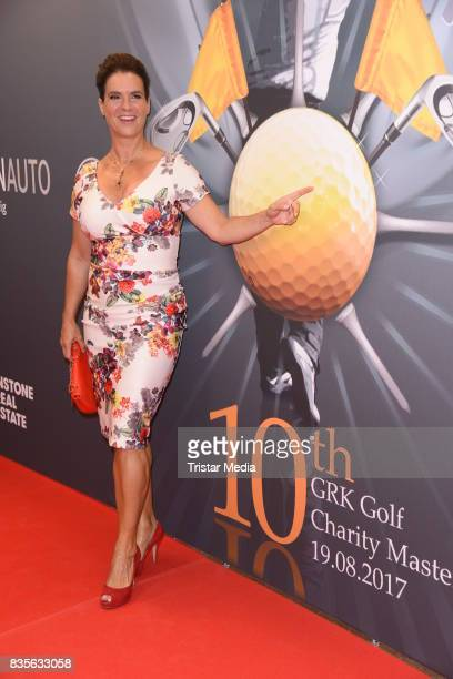 Katarina Witt attends the GRK Golf Charity Masters evening gala on August 19 2017 in Leipzig Germany