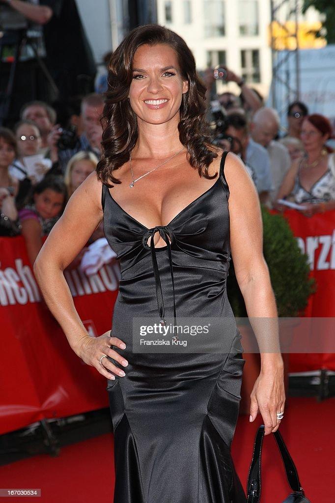 Katarina Witt Poses For Playboy