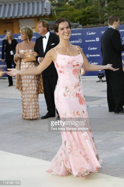Katarina Witt during 2003 Laureus World Sports Awards Arrivals at Grimaldi Forum in Monte Carlo Monaco