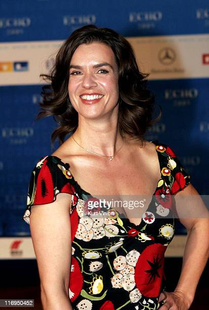 Katarina Witt during 2005 ECHO German Music Awards Arrivals Press Room at Estel in Berlin Germany