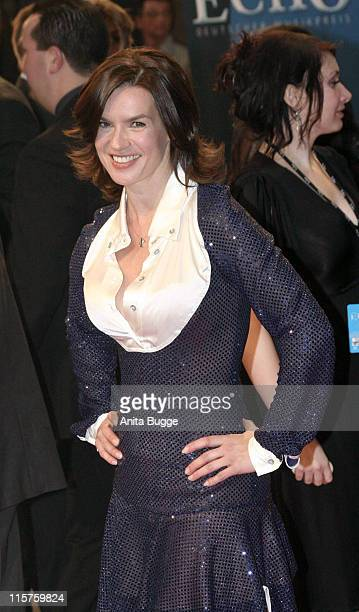 Katarina Witt during 2007 Echo Awards Red Carpet at Palais am Funkturm in Berlin Berlin Germany