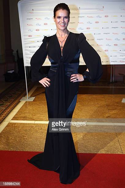 Katarina Witt poses during the 31 Sportpresseball at Alte Oper on November 10 2012 in Frankfurt am Main Germany