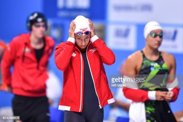 Katarine Savard during the Budapest 2017 FINA World Championships on July 28 2017 in Budapest Hungary