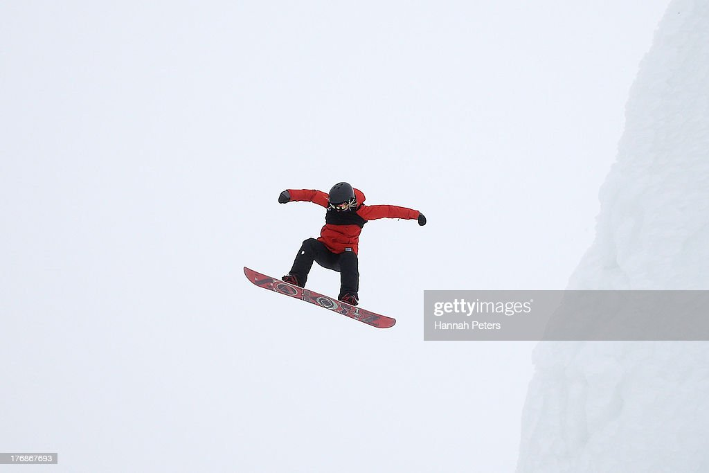 Katarzyna Rusin of Poland competes during the FIS Snowboard Slopestyle World Cup Finals during day five of the Winter Games NZ at Cardrona Alpine Resort on August 19, 2013 in Wanaka, New Zealand.