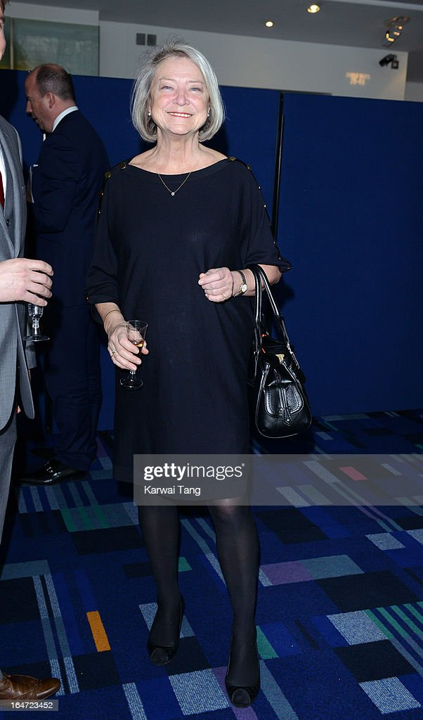 Kate Adie OBE attends the Prince's Trust Celebrate Success Awards at Odeon Leicester Square on March 26, 2013 in London, England.