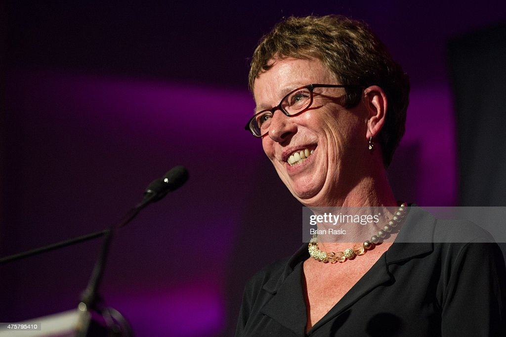 Kate Allen Director of Amnesty International UK speaks during Amnesty International UK celebrate 10th anniversary of headquaters on June 3, 2015 in London, England.