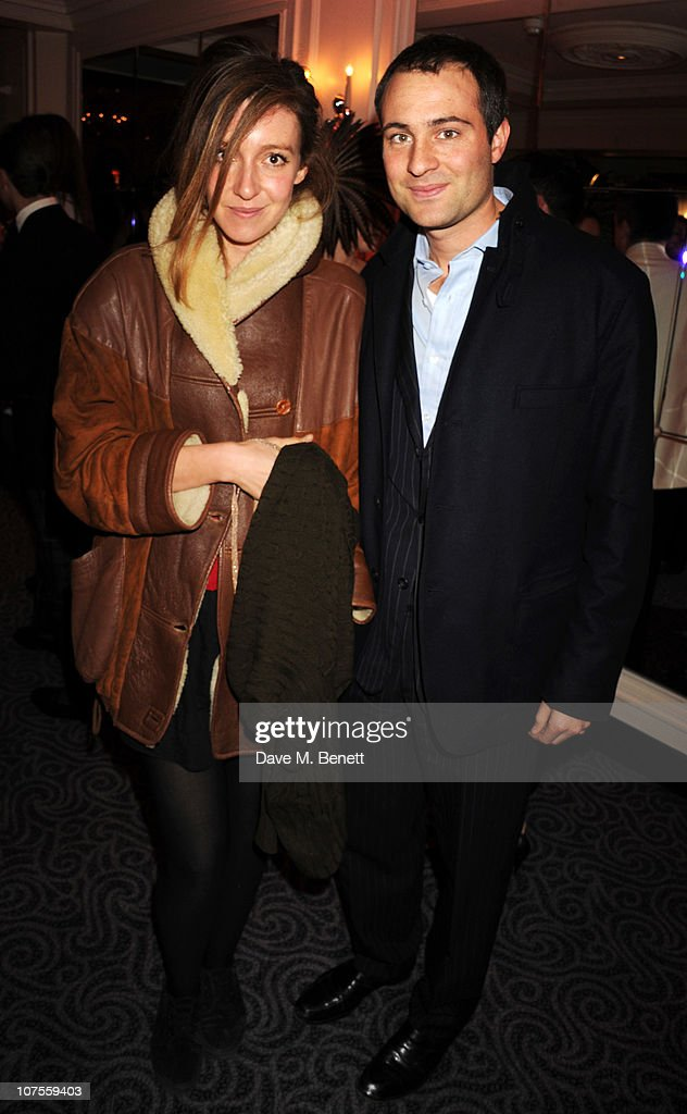 Kate and Ben Goldsmith attend the Quintessentially 10th anniversary party at The Savoy Hotel on December 13 2010 in London England