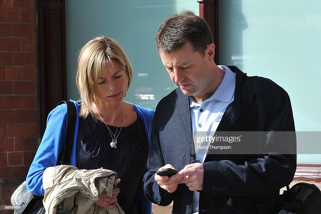 Kate and <a gi-track='captionPersonalityLinkClicked' href=/galleries/search?phrase=Gerry+McCann&family=editorial&specificpeople=4278561 ng-click='$event.stopPropagation()'>Gerry McCann</a> are sighted arriving at the Eurostar terminal on April 27, 2010 in London, England.