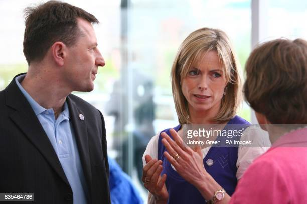 Kate and Gerry McCann the parents of missing Madeleine McCanntalk to television presenter Esther Rantzen as they join families of other missing...