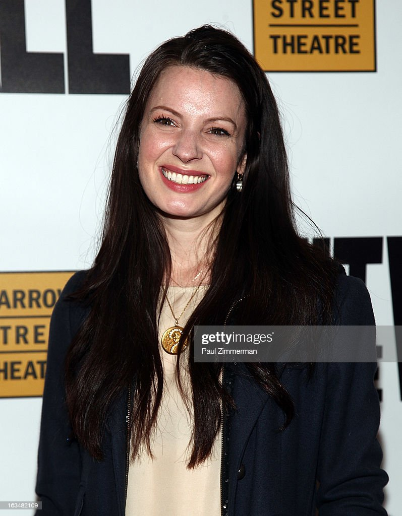 <a gi-track='captionPersonalityLinkClicked' href=/galleries/search?phrase=Kate+Arrington&family=editorial&specificpeople=7237784 ng-click='$event.stopPropagation()'>Kate Arrington</a> attends the 'Hit The Wall' Off Broadway opening night at the Barrow Street Theatre on March 10, 2013 in New York City.