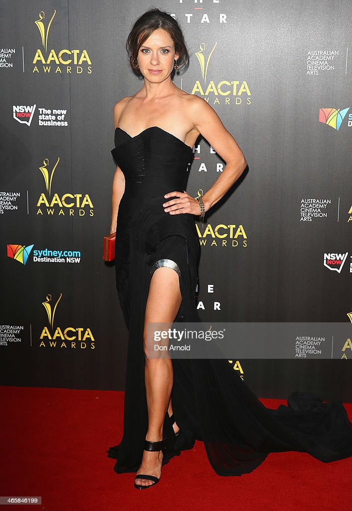 Kate Atkinson arrives at the 3rd Annual AACTA Awards Ceremony at The Star on January 30, 2014 in Sydney, Australia.