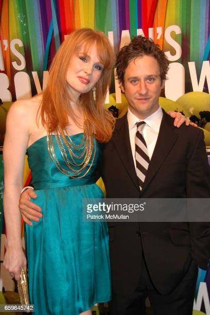 Kate Baldwin and Christopher Fitzgerald attend FINIAN'S RAINBOW Broadway OPENING After Party at Bryant Park Grill on October 29 2009 in New York