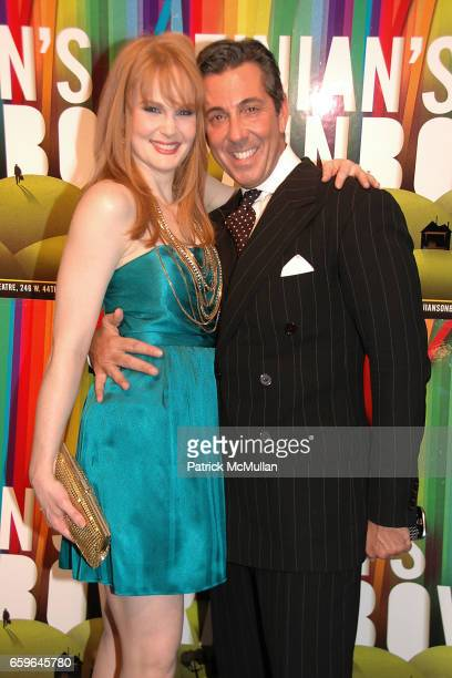 Kate Baldwin and guest attend FINIAN'S RAINBOW Broadway OPENING After Party at Bryant Park Grill on October 29 2009 in New York