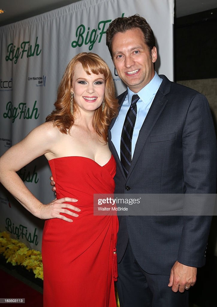 <a gi-track='captionPersonalityLinkClicked' href=/galleries/search?phrase=Kate+Baldwin&family=editorial&specificpeople=2656972 ng-click='$event.stopPropagation()'>Kate Baldwin</a> and husband Graham Rowat attend the 'Big Fish' Broadway Opening Night after party at Roseland Ballroom on October 6, 2013 in New York City.