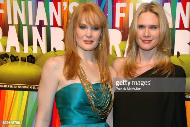 Kate Baldwin and Stephanie March attend FINIAN'S RAINBOW Broadway OPENING After Party at Bryant Park Grill on October 29 2009 in New York