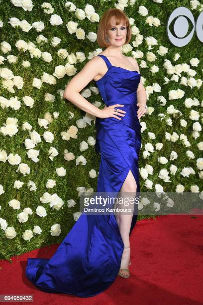Kate Baldwin attends the 2017 Tony Awards at Radio City Music Hall on June 11 2017 in New York City