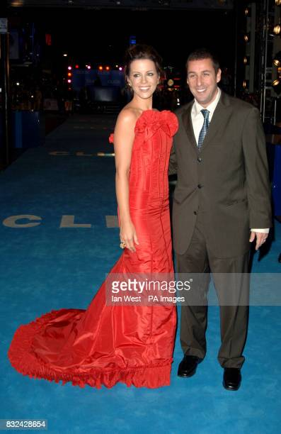 Kate Beckinsale and Adam Sandler attending the UK premiere of Click at the Empire Cinema Leicester Square central London Picture date Wednesday 27...