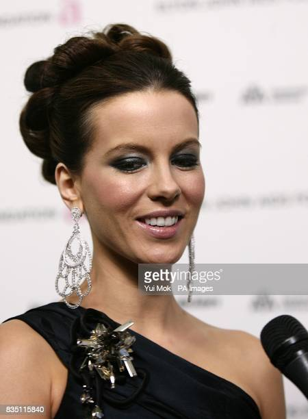 Kate Beckinsale arriving for the 17th annual Elton John AIDS Foundation Party to celebrate the 81st Academy Awards at the Pacific Design Center in...