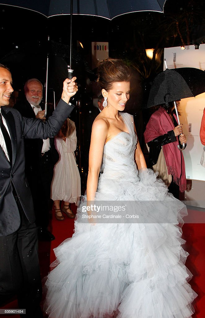 Kate Beckinsale at the Opening Dinner during the 63rd Cannes International Film Festival.