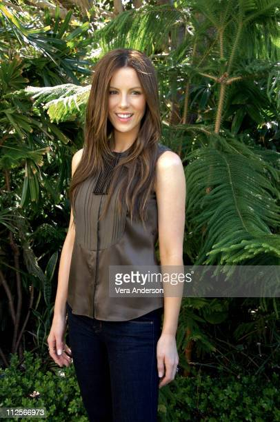 Kate Beckinsale at the 'Snow Angels' press conference at the Four Seasons Hotel on March 18 2008 in Beverly Hills California