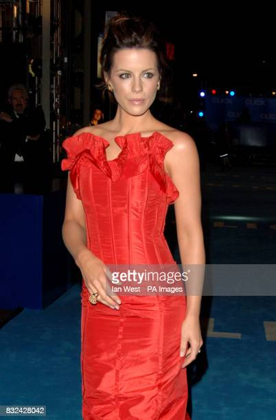 Kate Beckinsale attending the UK premiere of Click at the Empire Cinema Leicester Square central London Picture date Wednesday 27 September 2006...