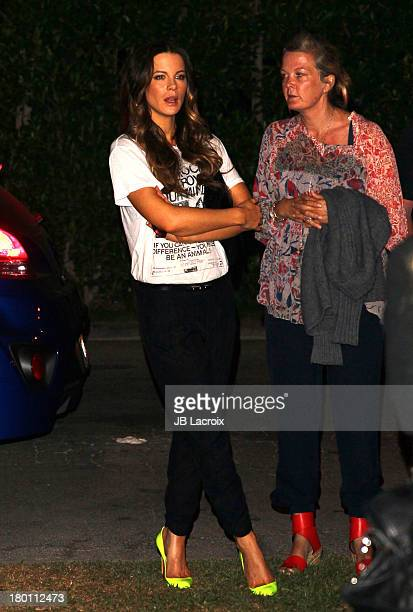 Kate Beckinsale attends a Special Screening Of 20th Century Fox Television's 'Sleepy Hollow' at the Hollywood Forever Cemetery on September 8 2013 in...