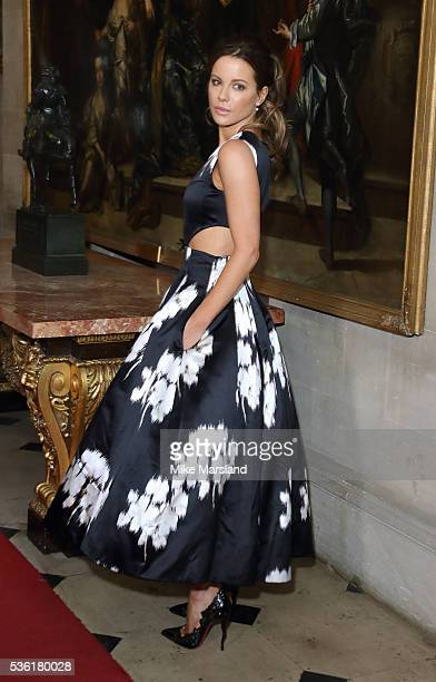 Kate Beckinsale attends as Christian Dior showcases its spring summer 2017 cruise collection at Blenheim Palace on May 31 2016 in Woodstock England