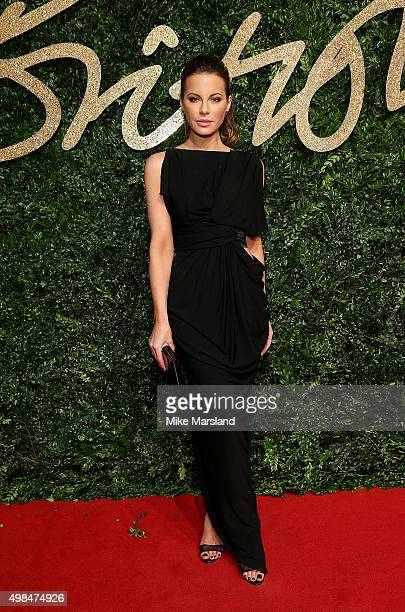 Kate Beckinsale attends the British Fashion Awards 2015 at London Coliseum on November 23 2015 in London England