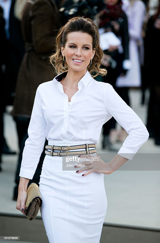 <a gi-track='captionPersonalityLinkClicked' href=/galleries/search?phrase=Kate+Beckinsale&family=editorial&specificpeople=202911 ng-click='$event.stopPropagation()'>Kate Beckinsale</a> attends the Burberry Prorsum show during London Fashion Week Fall/Winter 2013/14 at on February 18, 2013 in London, England.