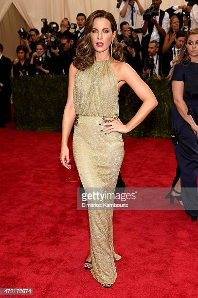 Kate Beckinsale attends the 'China Through The Looking Glass' Costume Institute Benefit Gala at the Metropolitan Museum of Art on May 4 2015 in New...