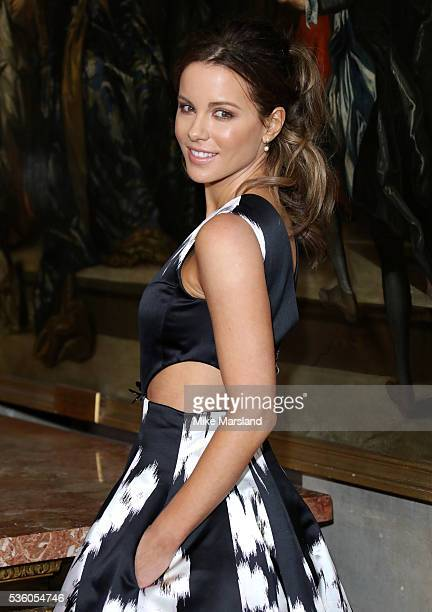 Kate Beckinsale attends the Christian Dior Spring Summer 2017 Cruise Collection at Blenheim Palace on May 31 2016 in Woodstock England