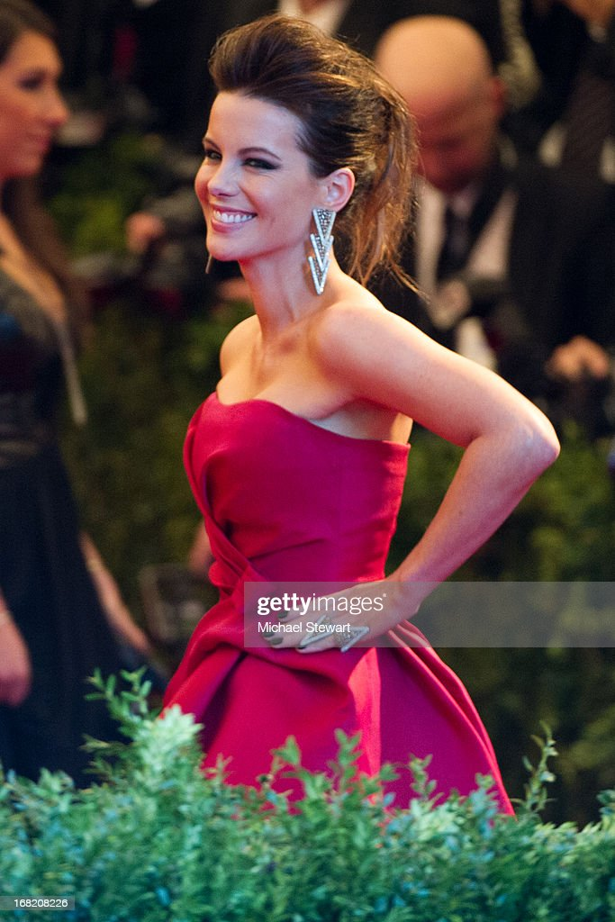 Kate Beckinsale attends the Costume Institute Gala for the 'PUNK: Chaos to Couture' exhibition at the Metropolitan Museum of Art on May 6, 2013 in New York City.