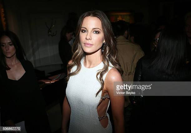 Kate Beckinsale attends the Dior Cruise Collection 2017 dinner and afterparty at Loulou's on May 31 2016 in London England