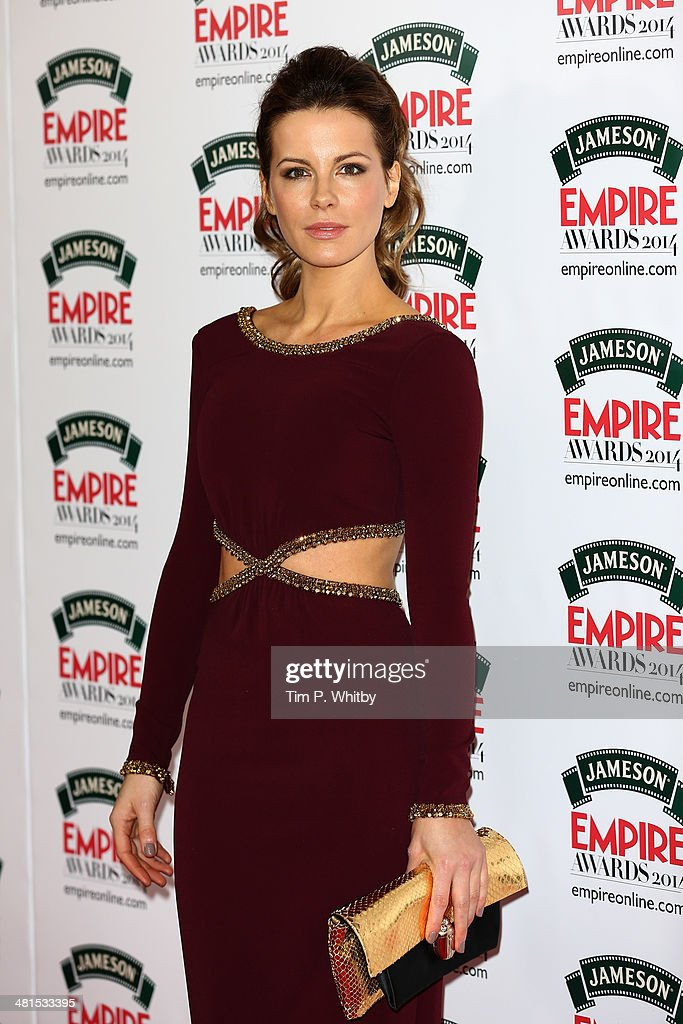 Kate Beckinsale attends the Jameson Empire Awards 2014 at the Grosvenor House Hotel on March 30, 2014 in London, England. Regarded as a relaxed end to the awards show season, the Jameson Empire Awards celebrate the film industry's success stories of the year with winners being voted for entirely by members of the public. Visit empireonline.com/awards2014 for more information.