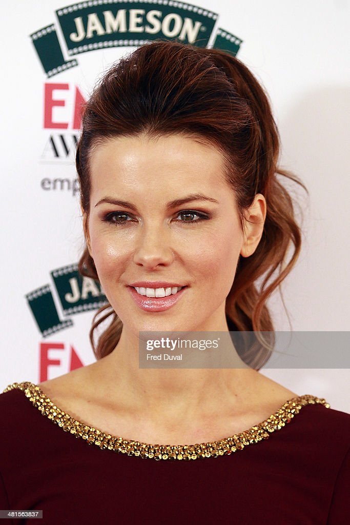 Kate Beckinsale attends the Jameson Empire Film Awards at The Grosvenor House Hotel on March 30, 2014 in London, England.