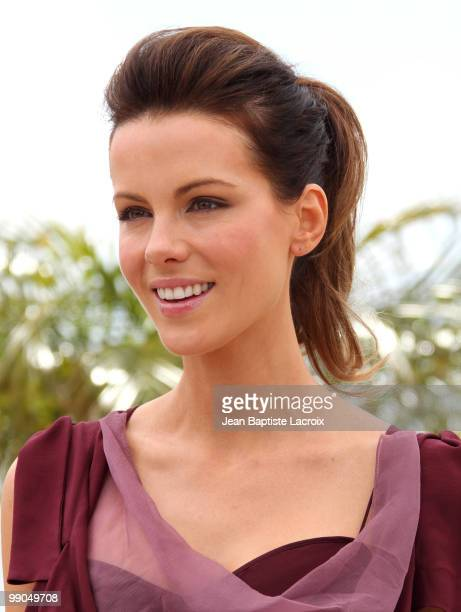 Kate Beckinsale attends the Jury Photocall at the Palais des Festivals during the 63rd Annual Cannes International Film Festival on May 12 2010 in...