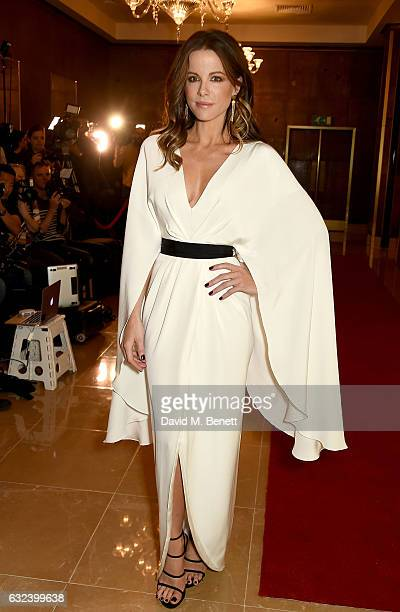 Kate Beckinsale attends The London Critics' Circle Film Awards at the May Fair Hotel on January 22 2017 in London England