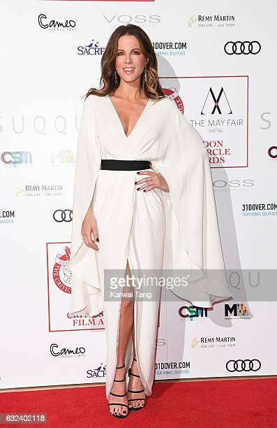 Kate Beckinsale attends The London Critic's Circle Film Awards at the Mayfair Hotel on January 22 2017 in London United Kingdom