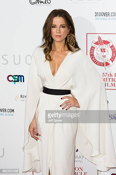 Kate Beckinsale attends The London Critic's Circle Film Awards at the May Fair Hotel on January 22 2017 in London United Kingdom