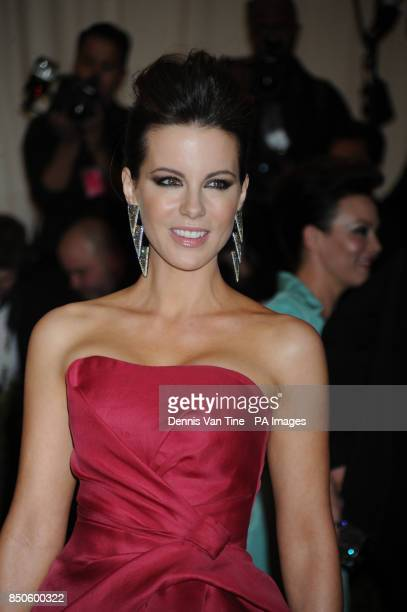 Kate Beckinsale attends the 'Punk' Chaos to Couture' Costume Institute Benefit Met Gala at the Metropolitan Museum in New York